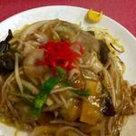 中華食堂 桂苑 - あんかけ焼きそば