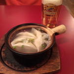 上海食府 - 水餃子、あっさりスープ