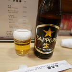 かめ幸 - [初回訪問]瓶ビール650円。