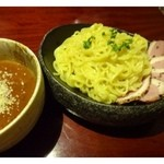 34389011 - トマトつけ麺(770円・税別)・・・人気商品だそう。