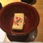 香家 - 小鉢 豆腐の味が付いたもの