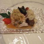 広東厨房 - 3150円コース(三色盛り合わせ前菜)