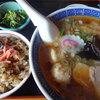 板蔵 - 料理写真:飛騨牛味飯セットです。