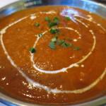 インド・ネパール料理 ロードブッダ - キーマ玉子アップ