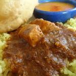 南インドの味 カレーリーフ - ペッパー風味のチキンカレー