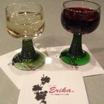 エリカ - グラスワイン(白&赤)