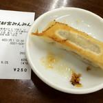 来らっせ 本店 - みんみん ヤキ(焼餃子)(250円)