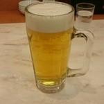 餃子の王将 - ビール