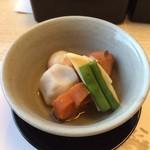 銀座いらか - 煮物の小鉢
