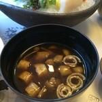 銀座いらか - 味噌汁