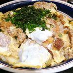 上州屋 - ジャンボチキンカツ丼。カツ300g+ご飯500g、これはすごかった(;´∀`)