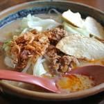 麺場唐崎商店 - 麺場唐崎商店・北海道味噌野菜ラーメン¥750(2014.10)