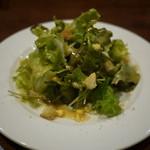 ムッシュふらいぱん - セットのサラダ