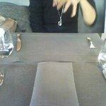 ブルガリ イル カフェ - テーブルまわりもGood