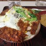 きっちんコバヤシ - カツ丼¥630