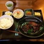 たけ美 - キンメ煮付け定食1,600円