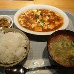 中華居酒屋 三国 - マーボー豆腐