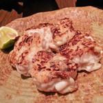寿司の磯松 - 焼き白子 980円