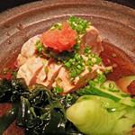 寿司の磯松 - あん肝ポン酢 880円