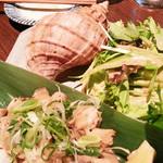 寿司の磯松 - ツブ貝のサラダ
