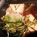 寿司の磯松 - 揚げだし豆腐