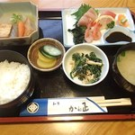 Kaneshou - 昼膳(920円)