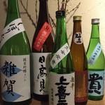 和食 たかもと - こだわりの純米酒です。