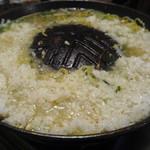児玉助六 - 〆の「札幌トン塩」で雑炊
