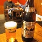 瓢亭 - ビール