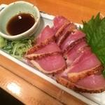立呑み居酒屋 牡丹 - まいう〜 地鶏炙り(≧∇≦)オススメ