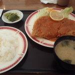 樹林 - 料理写真:厚切りみそかつ定食 1,150円