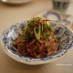御田町 桃の木 - 豚の砂肝