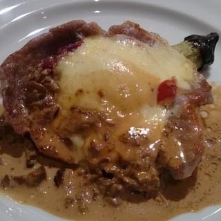 プルミエ - 料理写真:豚ロースのグリル ポルチーニソース