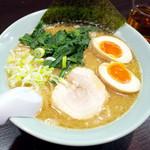 麺工房 武 - 味玉豚骨ラーメン(830円)