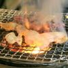 地どり焼 藤田屋 - 料理写真:かんてきで自分焼き♪