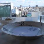アロマフレスカ - お皿と外の風景