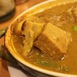 Kikuya Curry - 豚バラ拡大