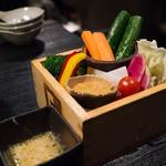 炉ばた情緒 かっこ - 彩り野菜盛り