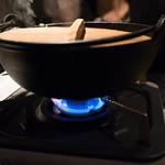 炉ばた情緒 かっこ - 阿波尾鶏 柚子塩鍋