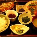 食道荒ヤ - 料理写真:日替わり定食