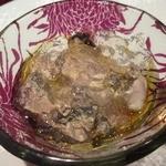 北新地Koutaro - 牡蠣はお塩のジュレソースでいただくお塩はフランスのゲランド