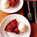 LENTO - 焼きいちごのタルトと珈琲のデザートセット