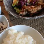竹庵 - こういうのは、白ご飯のお供にたまらんです(笑)