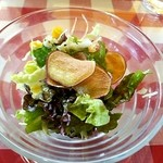 ぱすた屋るーちぇ - サラダ(ランチ)