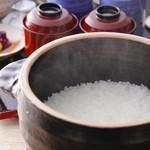 京甲屋 - 釜炊きご飯