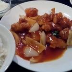 34425703 - 酢豚定食(違う名前かも)