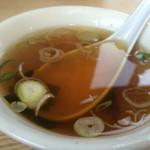 西華 - チャーハンのスープ
