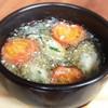 瀬戸内産牡蠣とプチトマトのアヒージョ Oyster in garlic olive oil
