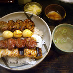3443134 - 「焼鳥丼」850円