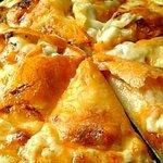 レッドピーマン - 料理写真:シーフードピザ